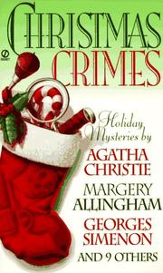 Cover of: Christmas crimes : stories from Ellery Queen's mystery magazine and Alfred Hitchcock mystery magazine