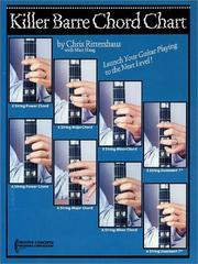 Cover of: Killer Barre Chord Chart | Chris Rittershaus