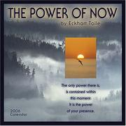 Cover of: The Power of Now 2006 Calendar