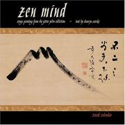 Cover of: Zen Mind 2006 Calendar