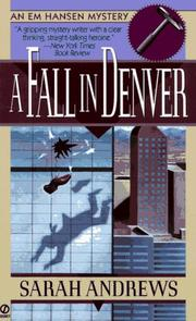 Cover of: A fall in Denver