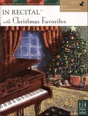 Cover of: In Recital Christmas Favorites, Book 4 | Various