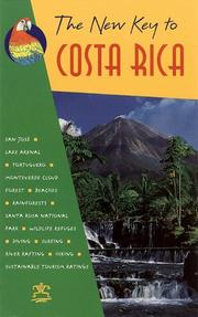 Cover of: The New Key to Costa Rica (14th ed) | Beatrice Blake