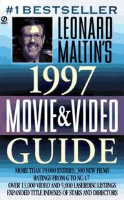 Cover of: Leonard Maltin's Movie and Video Guide 1997 (Leonard Maltin's Movie Guide (Signet)) | Leonard Maltin