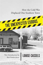 Cover of: The Unexpected Exodus | Louise Cassels