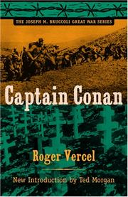 Cover of: Captain Conan (Joseph M. Bruccoli Great War Series)