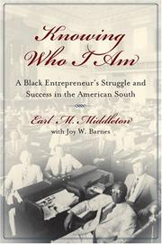 Cover of: Knowing Who I Am | Earl M. Middleton