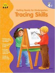 Cover of: Tracing Skills (Getting Ready for Kindergarten)