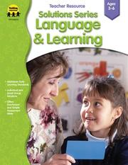 Cover of: Solutions Series Language & Learning (Solutions) | Marilee Whiting Woodfield