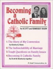 Cover of: Becoming a Catholic Family