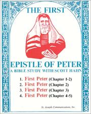 Cover of: The First Epistle of Peter