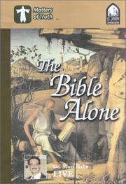 Cover of: The Bible Alone