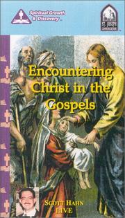 Cover of: Encountering Christ in the Gospels