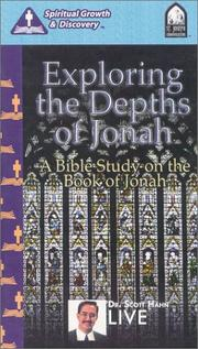 Cover of: Exploring the Depths of Johah