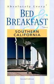Cover of: Absolutely Every Bed & Breakfast  |