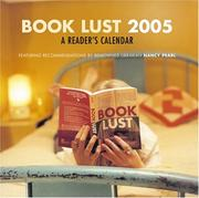 Cover of: Book Lust 2005 Calendar
