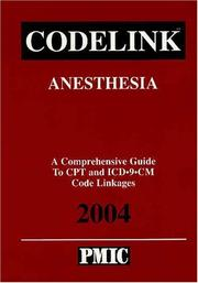 Cover of: Codelink: Anesthesia | Practice Management Information Corporation