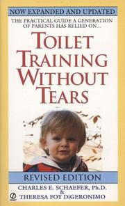 Cover of: Toilet training without tears