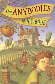 Cover of: The Anybodies | N. E. Bode