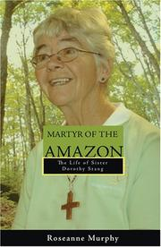 Cover of: Martyr of the Amazon