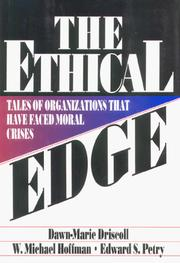 Cover of: The Ethical Edge | Dawn-Marie Driscoll