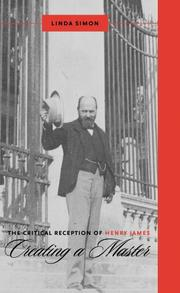 Cover of: The Critical Reception of Henry James | Linda Simon