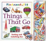 Cover of: Things That Go (Find and Fit) |