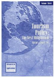 Cover of: Tourism Policy | David L. Edgell