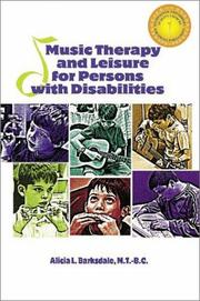 Music Therapy and Leisure for Persons with Disabilities