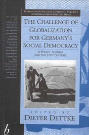 Cover of: The Challenge of Globalization for Germany