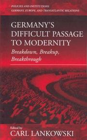 Cover of: Breakdown, Breakup, Breakthrough | Carl F. Lankowski