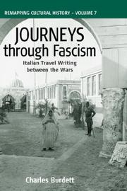 Cover of: Journeys Through Fascism by C Burdett