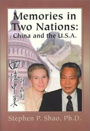 Cover of: Memories in Two Nations | Stephen P., Ph.D. Shao