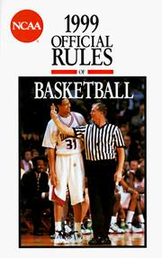 Cover of: Official Rules of Ncaa Basketball 1999