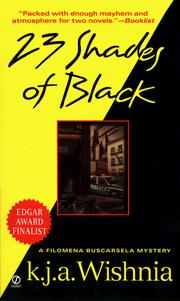Cover of: Twenty-three Shades of Black (Filomena Buscarsela Mysteries