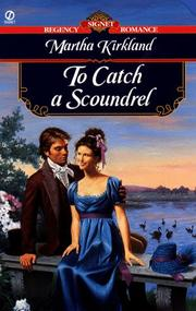 Cover of: To Catch a Scoundrel
