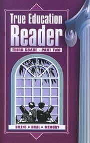 Cover of: True Education Reader | Katherine B. Hale