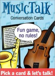 Cover of: Musictalk Conversation Cards (Tabletalk Conversation Cards) | US Games Systems Inc.