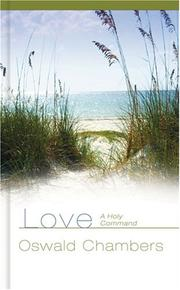 Cover of: Love: A Holy Command