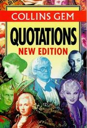Cover of: Quotations