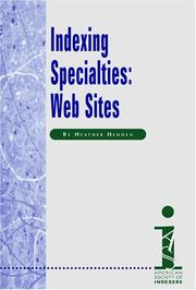 Cover of: Indexing Specialties
