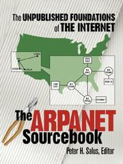 Cover of: The ARPANET Sourcebook