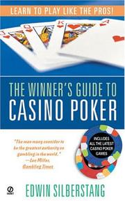 Cover of: The winner's guide to casino poker