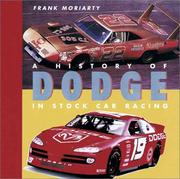Cover of: History of Dodge in Stock Car Racing