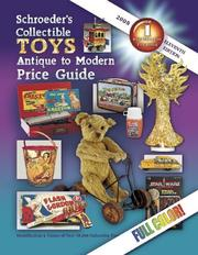 Cover of: Schroeder's Collectible Toys, Antique to Modern Price Guide - 2008 | Donna Newnum