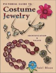 Cover of: Pictorial Guide to Costume Jewelry | Ariel Bloom