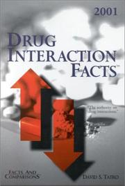 Drug Interaction Facts 2001 (Drug Interaction Facts)