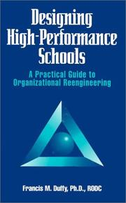 Cover of: Designing High Performance Schools