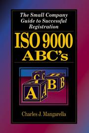 Cover of: Iso 9000 ABC