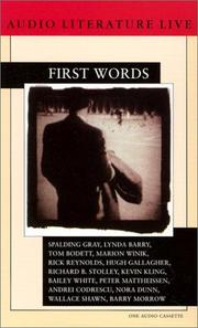 Cover of: First Words